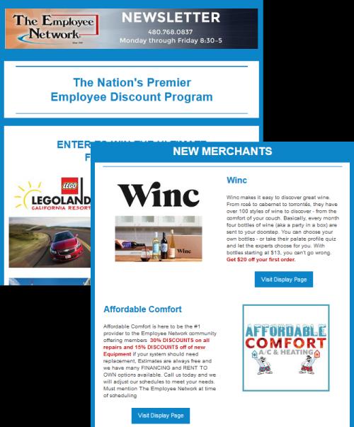 corporate shopping employee discounts employee benefits