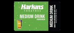Harkins Theatres Medium Drink Voucher